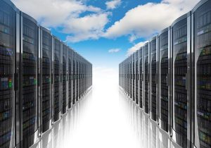 Data Center Sky and Clouds